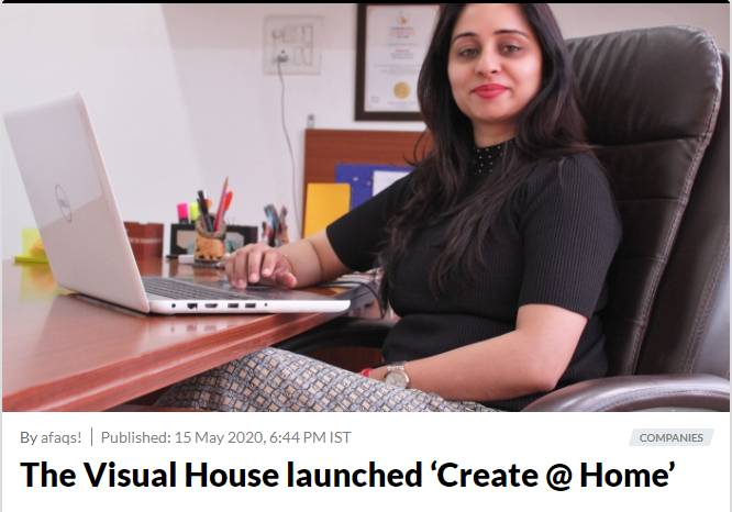 The Visual House Launched 'Create @ Home' a Cultural Fest, Celebrating All Forms of Art During this Lockdown